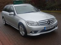 USED 2010 60 MERCEDES-BENZ C CLASS 2.1 C220 CDI BLUEEFFICIENCY SPORT 5d AUTO 170 BHP FULL SERVICE RECORD  (8 STAMPS) ++  HALF LEATHER TRIM ++   PARKING SENSORS ++  MOT JUNE 2018 ++
