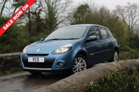 USED 2009 59 RENAULT CLIO 1.5 dCi Dynamique 5dr +FREE 2 YEAR WARRANTY+£30 TAX+