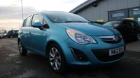 USED 2012 12 VAUXHALL CORSA 1.2 ACTIVE AC 5d 83 BHP LOW DEPOSIT OR NO DEPOSIT FINANCE AVAILABLE.