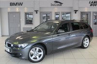 USED 2015 15 BMW 3 SERIES 3.0 330D SE TOURING 5d AUTO 255 BHP FULL SERVICE HISTORY + FULL BLACK LEATHER SEATS + PRO SAT NAV + BLUETOOTH + 360 DEGREE REVERSE CAMERA + CRUISE CONTROL + HEATED FRONT SEATS + 17 INCH ALLOYS + DAB RADIO