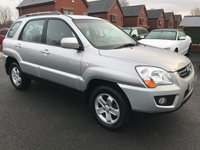 USED 2009 59 KIA SPORTAGE 2.0 XE CRDI 5d 138 BHP Cambelt replaced July 2015,     Cloth upholstery,     Split rear tailgate