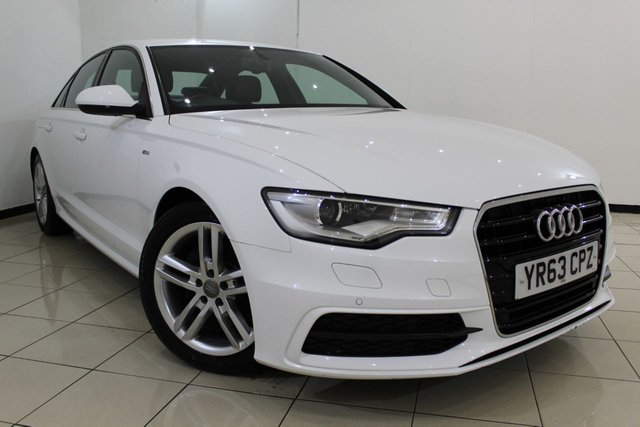 View our 2013 63 AUDI A6 2.0 TDI S LINE 4DR 175 BHP