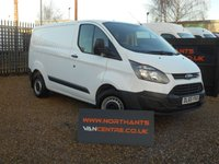2015 FORD TRANSIT CUSTOM VAN, 2.2 290 LR P/V 5d 100 BHP ECO TECH £10990.00