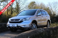 USED 2011 61 HONDA CR-V 2.0 i-VTEC EX Station Wagon 5dr +FREE 2 YEAR WARRANTY+SATNAV+