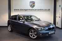 USED 2014 63 BMW 1 SERIES 2.0 116D SPORT 5d 114 BHP + BLUETOOTH + HEATED SPORT SEATS + DAB RADIO + RAIN SENSORS + AUXILIARY PORT + 17 INCH ALLOY WHEELS +