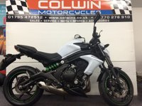 USED 2015 15 KAWASAKI ER 6N 649cc ER 650 EFF  FITTED WITH RESTRICTOR KIT!!!