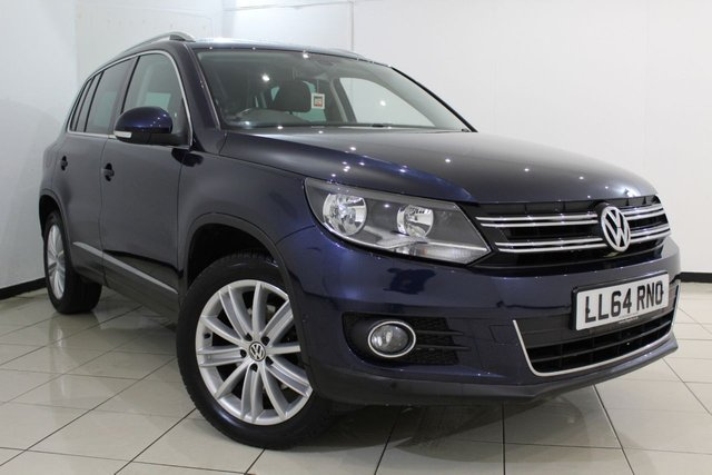 View our 2014 64 VOLKSWAGEN TIGUAN 2.0 MATCH TDI BLUEMOTION TECH 4MOTION DSG 5DR AUTOMATIC 139 BHP