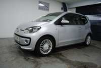 2013 VOLKSWAGEN UP 1.0 HIGH UP BLUEMOTION TECHNOLOGY 3d 74 BHP £5995.00