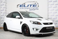 USED 2011 11 FORD FOCUS 2.5 ST-2 3d 223 BHP SPEC: RS CROSSOVER PIPE, GROUP A FILTER, ANEBO ENGINE COVER, TURBO SMART RECIRC VALVE, EVORA DRILLED AND GROOVED BRAKES ALL ROUND/MINTEX PADS /FULL PIPE DYNAMICS EXHAUST WITH CAT, COBRA SPRINGS/ ZUNSPORT GRILLS, MOUNTUNE GEARKNOB/GAITER, TRIPLE R SPLITTER, DENSO IRIDIUM PLUGS, 18X8.5 ROTA'S PRO ALLOY INTERCOOLER, DREAMSCIENCE MAP WHICH CAN BE ALTERED BETWEEN BOOST SETTINGS!