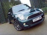 2007 MINI HATCH COOPER 1.6 COOPER S 3d 172 BHP £4999.00