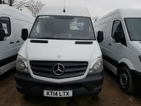 USED 2014 14 MERCEDES-BENZ SPRINTER 2.1 313 CDI MWB 1d 129 BHP
