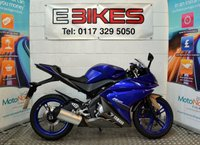 USED 2013 13 YAMAHA YZF-R125 SPORTS STYLE LEARNER LEGAL COMMUTER 125CC