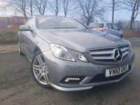 USED 2010 10 MERCEDES-BENZ E CLASS 3.0 E350 CDI BE SPORT 2d AUTO 231BHP ELEC GLASS PANORAMIC SUNROOF+
