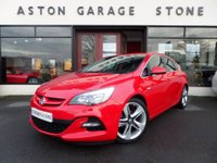 USED 2016 16 VAUXHALL ASTRA 1.6 LIMITED EDITION 5d 115 BHP **LEATHER** ** HEATED BLACK LEATHER * 19's **
