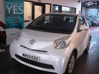 USED 2010 59 TOYOTA IQ 1.0 VVT-I IQ 3d 68 BHP Privately owned. Well maintained. December 2018 Mot. Supplied with a service & 6 month warranty.