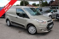USED 2014 14 FORD TRANSIT CONNECT 1.6 200 TREND P/V 1d 94 BHP 3 Seat, Air Con, Two Owner, Low Mileage