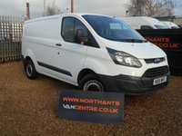 2016 FORD TRANSIT CUSTOM VAN, 2.2 290 LR P/V 5d 100 BHP ECO TECH £11490.00