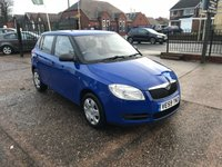 USED 2009 59 SKODA FABIA 1.2 LEVEL 1 HTP 5d 59 BHP 1 Owner-Very Good Service History-1.2 Petrol-12 Months Mot-Air Con