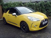 2010 CITROEN DS3 1.6 DSPORT HDI 3d 110 BHP £4499.00