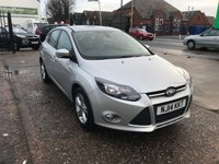USED 2014 14 FORD FOCUS 1.6 ZETEC TDCI 5d 113 BHP 1 Owner-Full Main Dealer Service History-Bluetooth-Start /Stop