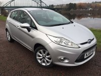 USED 2009 59 FORD FIESTA 1.4 ZETEC TDCI 5d 68 BHP **GREAT MPG**