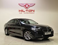 USED 2014 14 BMW 5 SERIES 2.0 520D SE 4d AUTO 181 BHP + 1 OWNER +  SERVICE HISTORY + + AIR CON + AUX + BLUETOOTH