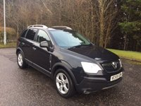 USED 2010 59 VAUXHALL ANTARA 2.0 SE CDTI 5d AUTO 150 BHP 6 MONTHS PARTS+ LABOUR WARRANTY+AA COVER