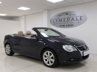 USED 2006 06 VOLKSWAGEN EOS 2.0 FSI 2d 148 BHP Full Dealer History, Leather, Heated Seats (F), Pan Roof