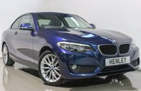 USED 2014 64 BMW 2 SERIES 2.0 218D SE 2d 141 BHP