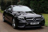 2017 MERCEDES-BENZ E CLASS 2.0 E 220 D AMG LINE PREMIUM 2d AUTO 192 BHP £SOLD