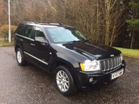USED 2007 57 JEEP GRAND CHEROKEE 3.0 V6 CRD OVERLAND 5d AUTO 215 BHP 6 MONTHS PARTS+ LABOUR WARRANTY+AA COVER