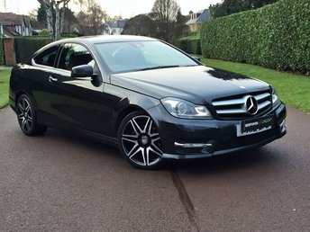 2012 MERCEDES-BENZ C CLASS 1.6 C180 BLUEEFFICIENCY AMG SPORT PLUS PETROL AUTOMATIC PRICED ACCORDINGLY GREAT EXAMPLE WITH FULL DEALER SERVICE HISTORY + JUST SERVICED NON SMOKED 1ST 2 VIEW WILL BUY BEST FINANCE RATES AVAILABLE  £13595.00