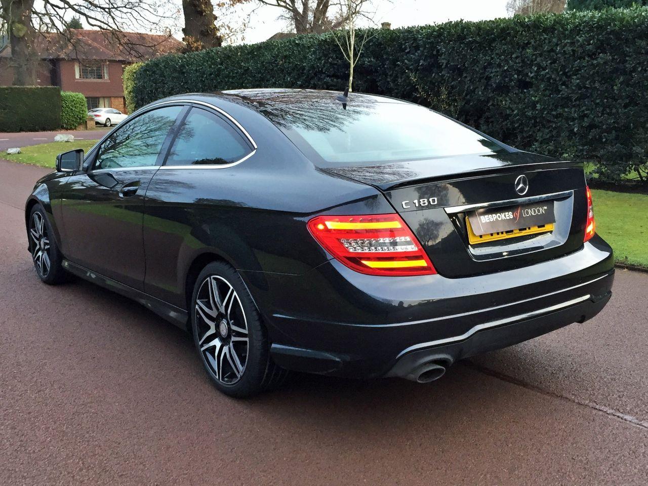 Mercedes benz c class c180 blueefficiency amg sport plus for Mercedes benz loan rates