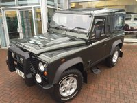 USED 2007 07 LAND ROVER DEFENDER 90 2.4 90 STATION WAGON SWB 3d 122 BHP