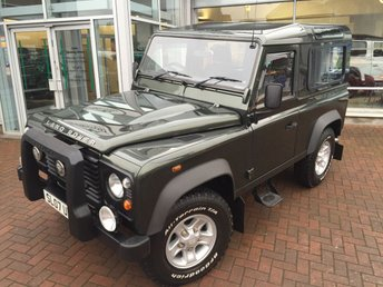 2007 LAND ROVER DEFENDER 90 2.4 90 STATION WAGON SWB 3d 122 BHP £SOLD