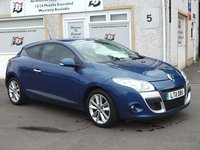 USED 2011 11 RENAULT MEGANE 2.0 PRIVILEGE TOMTOM DCI FAP 3d AUTO 150 BHP Low mileage , Bluetooth , Cruise control , Privacy glass