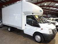 2013 FORD TRANSIT 2.2 350 DRW  125 BHP LUTON WITH TAIL LIFT-ONE OWNER-SERVICE HISTORY £10795.00