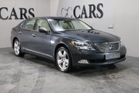USED 2009 09 LEXUS LS 5.0 600H L RSR 4d AUTO 445 BHP LUXURIOUSLY APPOINTED THROUGHOUT LOADED WITH EVERY CONCEIVABLE EXTRA FSH REAR DROP DOWN DVD/TV PLAYER LAST WORD IN COMFORT AND REFINEMENT  A VERY WELL MAINTAINED AND CARED FOR CAR IN EXCELLENT CONDITION THROUGHOUT TWO KEYS