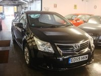 USED 2009 59 TOYOTA AVENSIS 1.8 T2 VALVEMATIC 4d 144 BHP Two private owners- last gent since 2012. Full service history consisting of 8 stamps. June 2018 Mot.