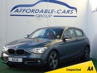 2013 BMW 1 SERIES 2.0 118D SPORT 3d 141 BHP £9750.00