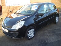 USED 2008 58 RENAULT CLIO 1.2 EXTREME 16V 3d 75 BHP **ZERO DEPOSIT FINANCE AVAILABLE** PART EXCHANGE WELCOME