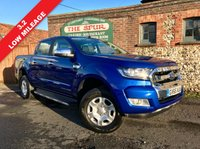 USED 2016 65 FORD RANGER 3.2 LIMITED 4X4 DCB TDCI 1d 197 BHP Only 15,890 Miles, 3.2 Limited, One Owner, Tow Pack, Leather Upholstery.