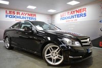 2013 MERCEDES-BENZ C CLASS 2.1 C220 CDI BLUEEFFICIENCY AMG SPORT 2d 170 BHP £11999.00
