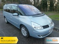 USED 2009 09 RENAULT GRAND ESPACE 2.0 DYNAMIQUE DCI 5d 150 BHP Fantastic Condition Renault Grand Espace with Glass Panoramic Sunroof, Half Leather Seats, Climate Control, Cruise Control, Alloy Wheels and Service History