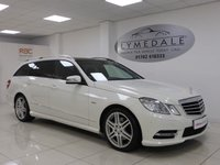 USED 2012 62 MERCEDES-BENZ E CLASS 2.1 E250 CDI BLUEEFFICIENCY SPORT 5d AUTO 204 BHP Very Special, Superb Condition, Pan Roof, Half Leather