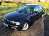 2000 BMW 3 SERIES 1.9 318I SE 4d AUTO 117 BHP Full Service History MOT 01/19, X2 Owners £1349.00