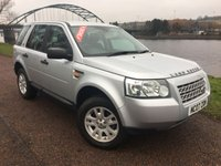 USED 2007 LAND ROVER FREELANDER 2.2 TD4 S 5d 159 BHP **FULL SERVICE HISTORY**