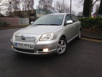 USED 2005 55 TOYOTA AVENSIS 2.0 T3-X D-4D 5d 114 BHP