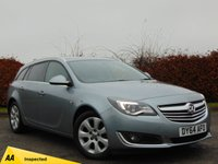 USED 2014 64 VAUXHALL INSIGNIA 2.0 SRI NAV CDTI ECOFLEX S/S 5d * ONE OWNER FROM NEW *128 POINT AA INSPECTED *