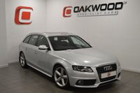 USED 2010 10 AUDI A4 2.0 AVANT TDI S LINE SPECIAL EDITION 5d 141 BHP FULL SERVICE HISTROY